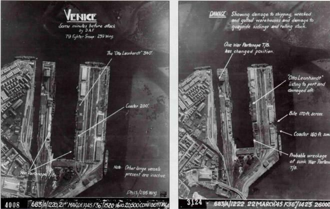 porto bombardato