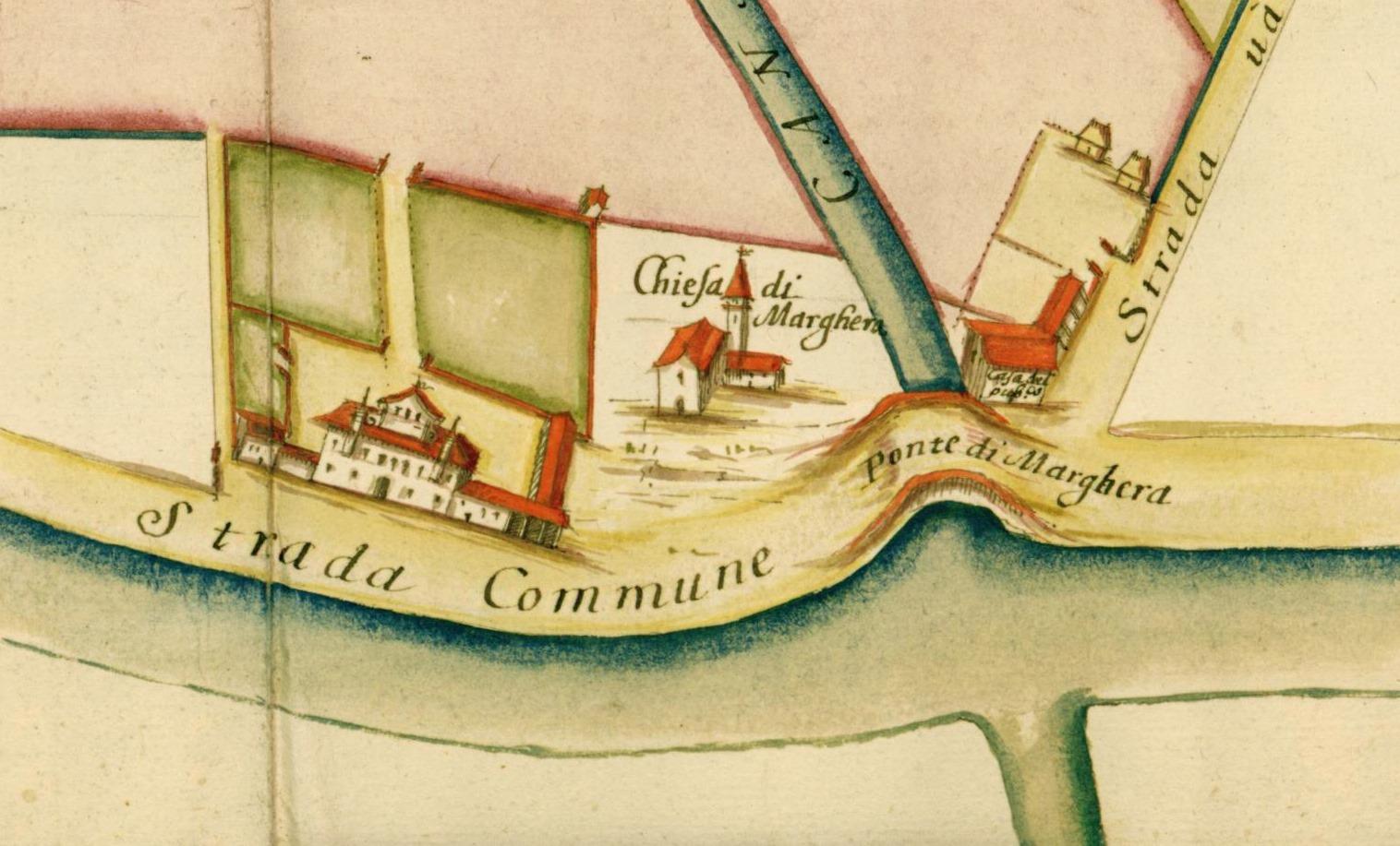 marghera chiesa ponte 1692