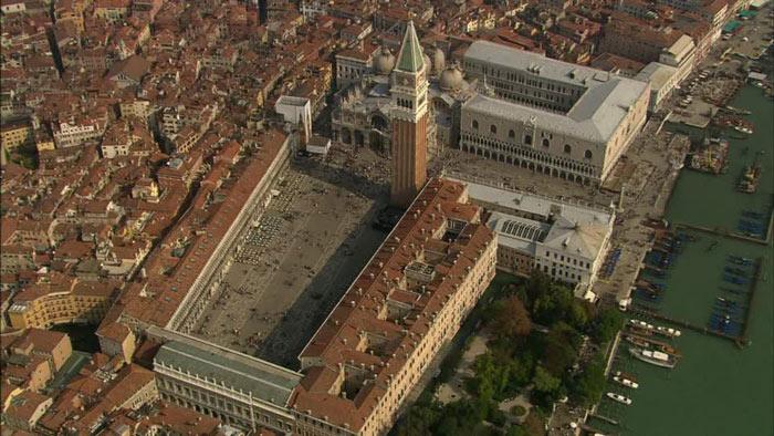 piazza san marco dall'alto
