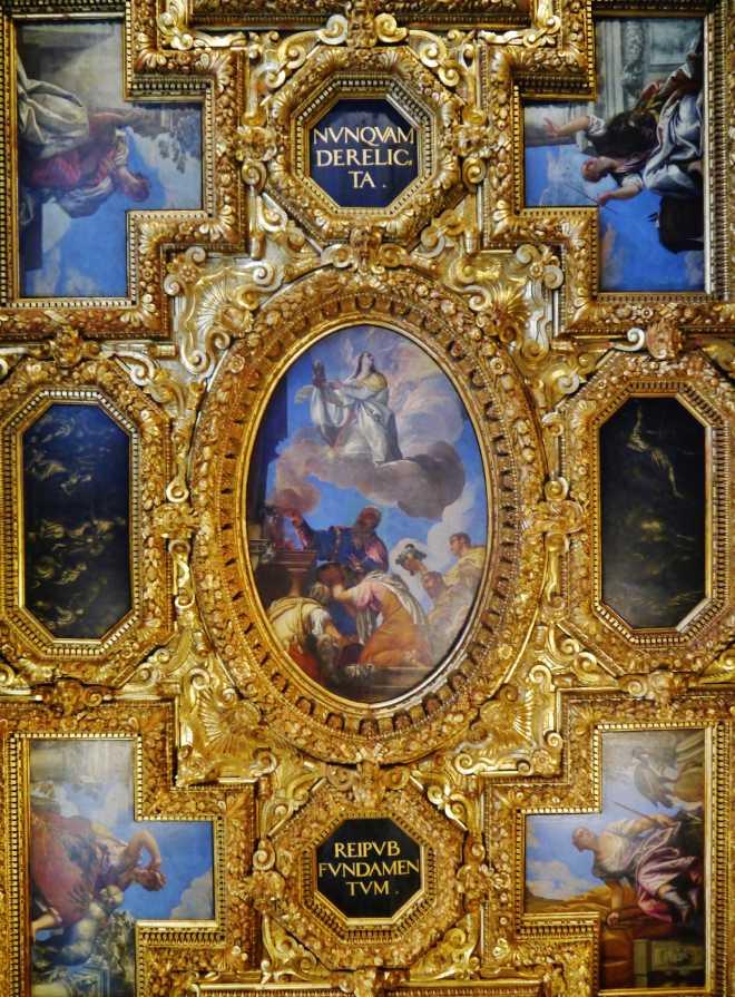 sala collegio soffitto veronese palazzo ducale venezia