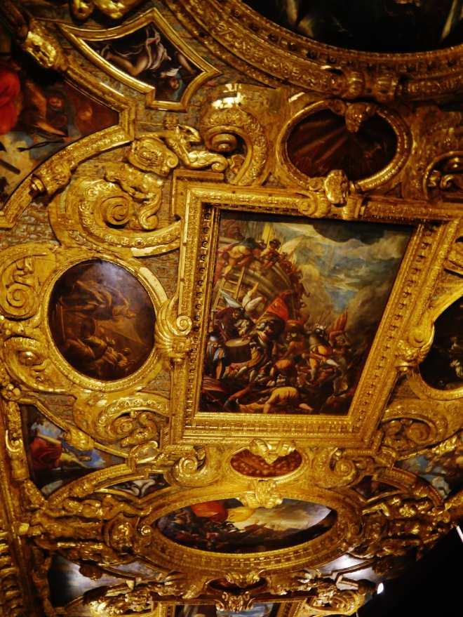 sala scrutinio soffitto palazzo ducale venezia