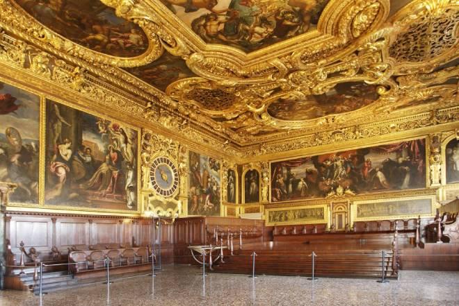 sala senato palazzo ducale