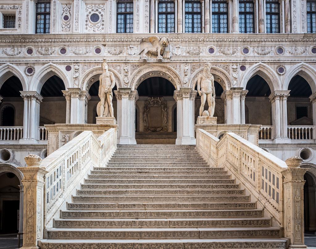 scala dei giganti palazzo ducale venezia