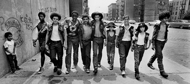 @Jean-Pierre Laffont Membri della gang Savage Skulls. Bronx, New York, 1972