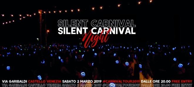 SAB.02.MAR | SILENT CARNIVAL PARTY | VIA GARIBALDI VENEZIA | SESTIERE CASTELLO