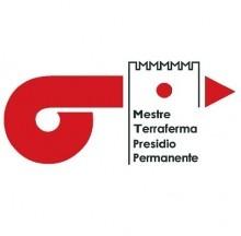 Logo del Presidio Mestre o Presidio permanente Mestre terraferma, coordinamento di associazioni.